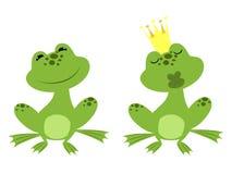 Prince frog Royalty Free Stock Photo