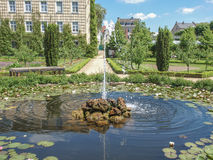 Prince Georg Garden in Darmstadt Royalty Free Stock Photos