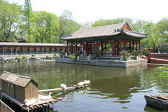Pond - Prince Gong Mansion - Beijing - China (4) Stock Image