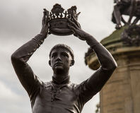Prince Hal. Shakespeare's  Monument in Stratford upon avon Royalty Free Stock Photography