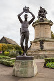 Prince Hal. Shakespeare's  Monument in Stratford upon avon Stock Image