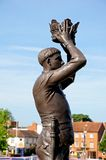 Prince Hal statue, Stratford-upon-Avon. Stock Photos