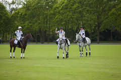 Prince Harry in attendance for polo match Stock Photos