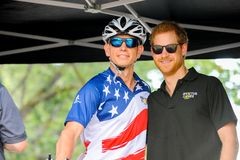Prince Harry during Invictus Games Royalty Free Stock Photography