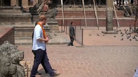 Prince Harry in Nepal stock footage