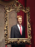 Prince Harry wax statue Stock Photography