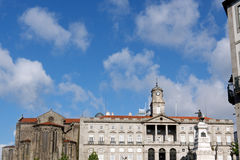 Prince Henry square, Porto Royalty Free Stock Images