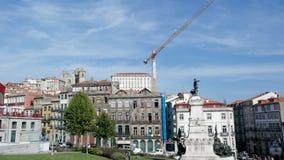 Prince Henry square, Porto, Portugal Stock Image