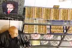 Prince Hussein - bonbons à Habiba/Jordanie images libres de droits