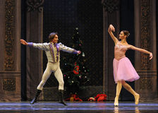 The prince is infatuated with Clara-The Ballet  Nutcracker Stock Image
