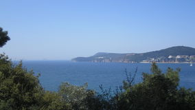 Prince island and Marmara sea. Istanbul, Turkey Royalty Free Stock Photo