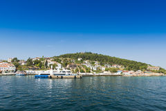 Prince islands in Marmara Sea Stock Images