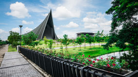 Prince Mahidol Hall. The grand hall as the proper venue for the graduation ceremon. Stock Image