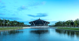 Prince Mahidol Hall in Mahidol university Stock Photo