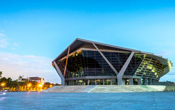 Prince Mahidol Hall in Mahidol university Stock Images