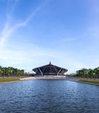 Prince Mahidol hall in Mahidol university Royalty Free Stock Image