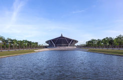 Prince Mahidol hall in Mahidol university Stock Photography