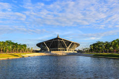 PRINCE MAHIDOL HALL,Mahidol University,Salaya,Phutthamonthon district,Nakhon Pathom Province,Thailand Royalty Free Stock Photo