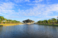 PRINCE MAHIDOL HALL,Mahidol University,Salaya,Phutthamonthon district,Nakhon Pathom Province,Thailand Royalty Free Stock Images