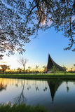 PRINCE MAHIDOL HALL,Mahidol University,Salaya,Phutthamonthon district,Nakhon Pathom Province,Thailand Stock Images