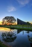 PRINCE MAHIDOL HALL,Mahidol University,Salaya,Phutthamonthon district,Nakhon Pathom Province,Thailand Stock Photos