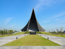 Prince Mahidol Hall at Mahidol University, Thailand. Stock Images