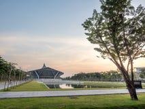Prince Mahidol Hall in Salaya campus Royalty Free Stock Images