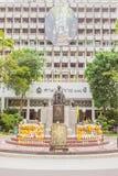 Prince Mahidol Memorial statue at the center of Siriraj hospital in Bangkok Royalty Free Stock Photo