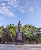 Prince Mahidol monument under blue sky Royalty Free Stock Photos