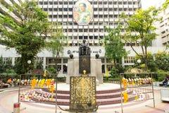 Prince Mahidol statue square in Siriraj hospital Stock Photo