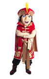 Prince Mascot Costume Isolated Stock Photos