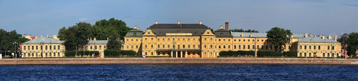 Prince Menshikov Palace Stock Photo