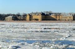 Prince Menshikov Palace in St. Petersburg Royalty Free Stock Photo