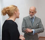PRINCE MICHAEL OF KENT Images libres de droits