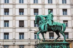 Free Prince Michael Statue In Belgrade Royalty Free Stock Photography - 187299007
