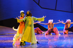 The prince of Mongolia-The dance drama The legend of the Condor Heroes Stock Photography