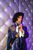 Prince the musician and singer Royalty Free Stock Photo