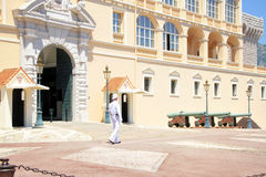 Prince Palace in Monaco Royalty Free Stock Photo