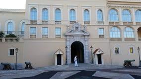 Prince' palacio de s de Mónaco Imagen de archivo libre de regalías