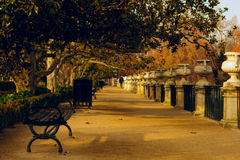 Prince Park in Aranjuez royalty free stock photography