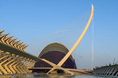 Prince Philip Science Museum and Agora of City of Arts and Sciences Royalty Free Stock Photo