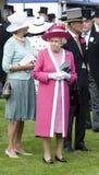 Prince Phillip,Elizabeth II Stock Image