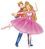 Prince and princess Stock Photography