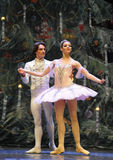 The prince and the princess-The Ballet  Nutcracker Royalty Free Stock Photography