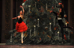 The prince and Princess of Spain- The second act second field candy Kingdom -The Ballet  Nutcracker Stock Photography