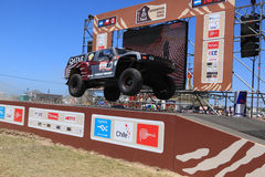 Prince of Qatar at dakar 2012 Stock Photography