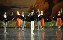 The prince Qi Ge-ballet Swan Lake Stock Photo