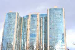 Prince résidentiel Alexander Nevsky de gratte-ciel Photos libres de droits