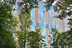 Prince résidentiel Alexander Nevsky de gratte-ciel Images libres de droits