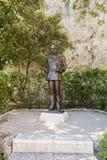 Prince Rainier III statue, Monaco. Stock Image